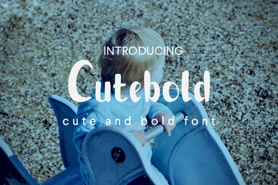 Cutebold Display Font