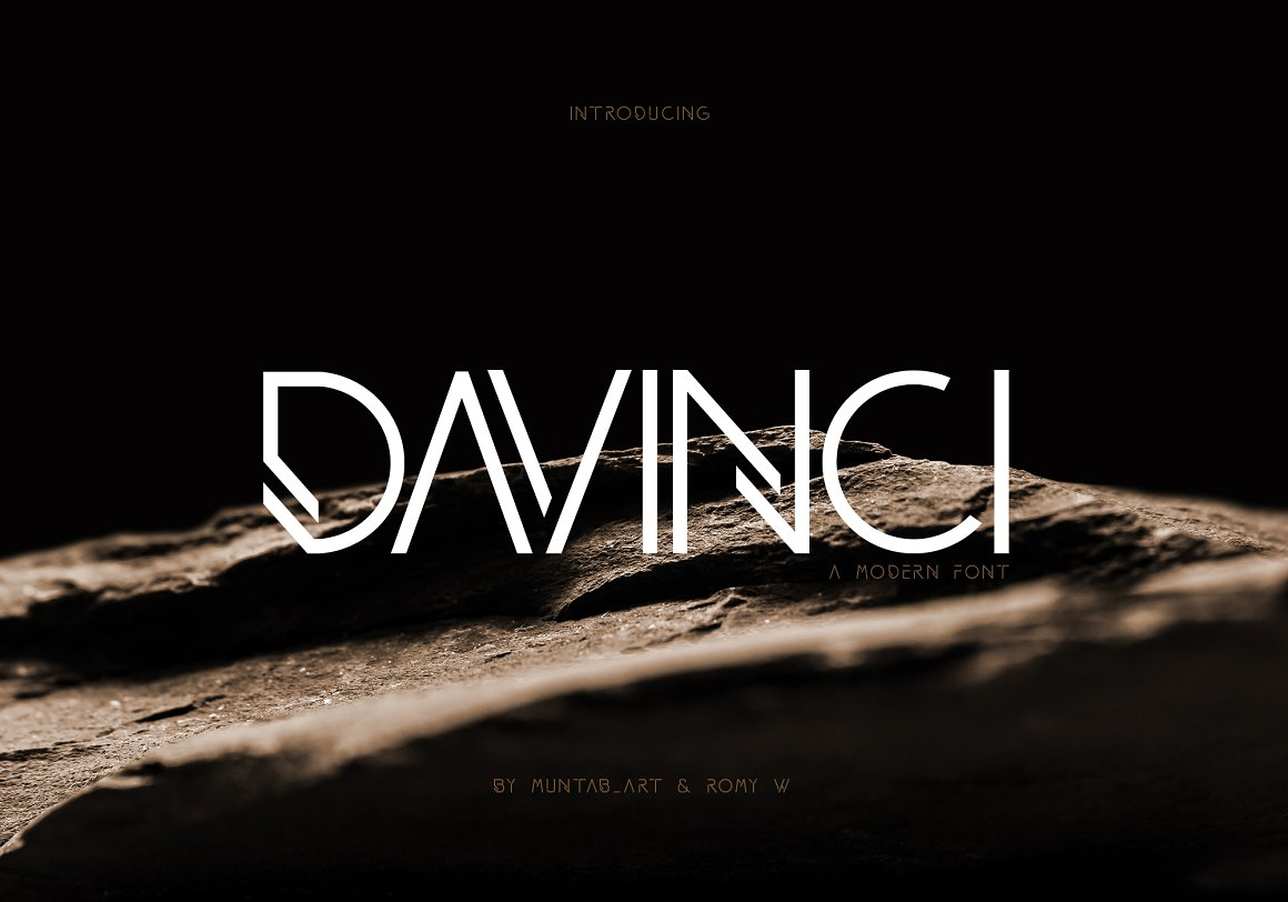 DAVINCI FONTS MODERN SANS Font