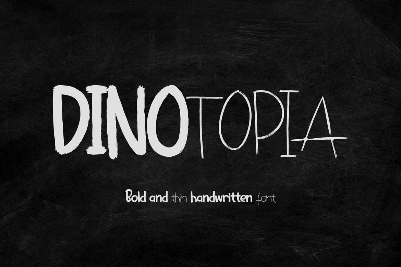 Dinotopia – Handwritten Font