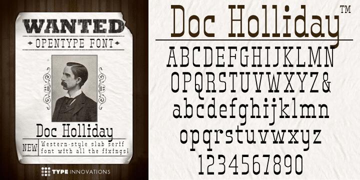 Doc Holliday Font