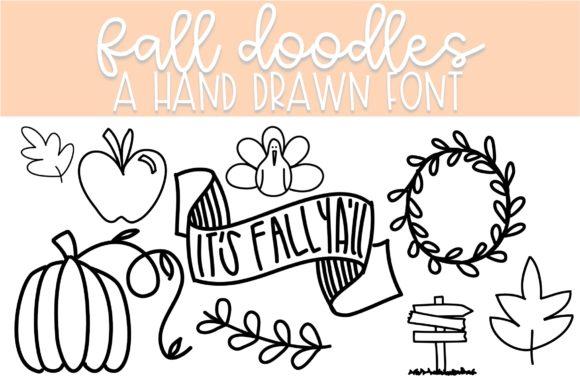 Fall Doodles Font