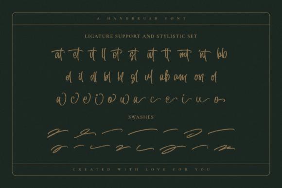 Hillentone – Brush Font