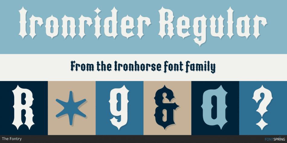 Ironhorse Font
