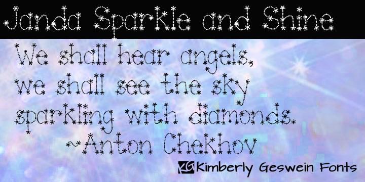 Janda Sparkle and Shine