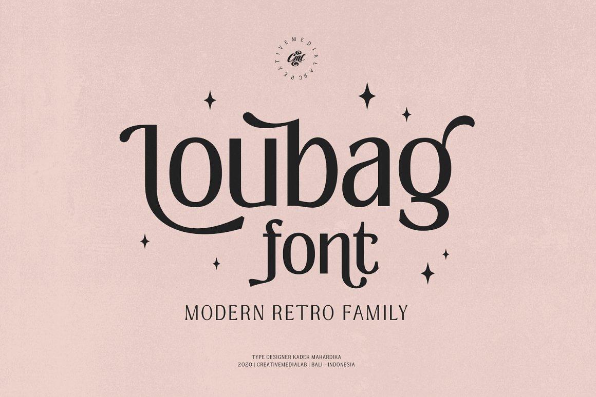 Loubag – Modern Retro Family
