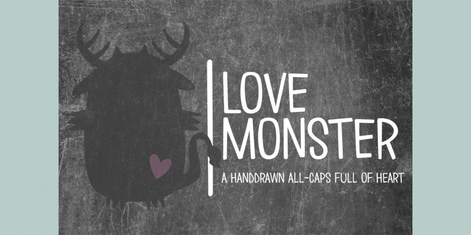 Love Monster Font