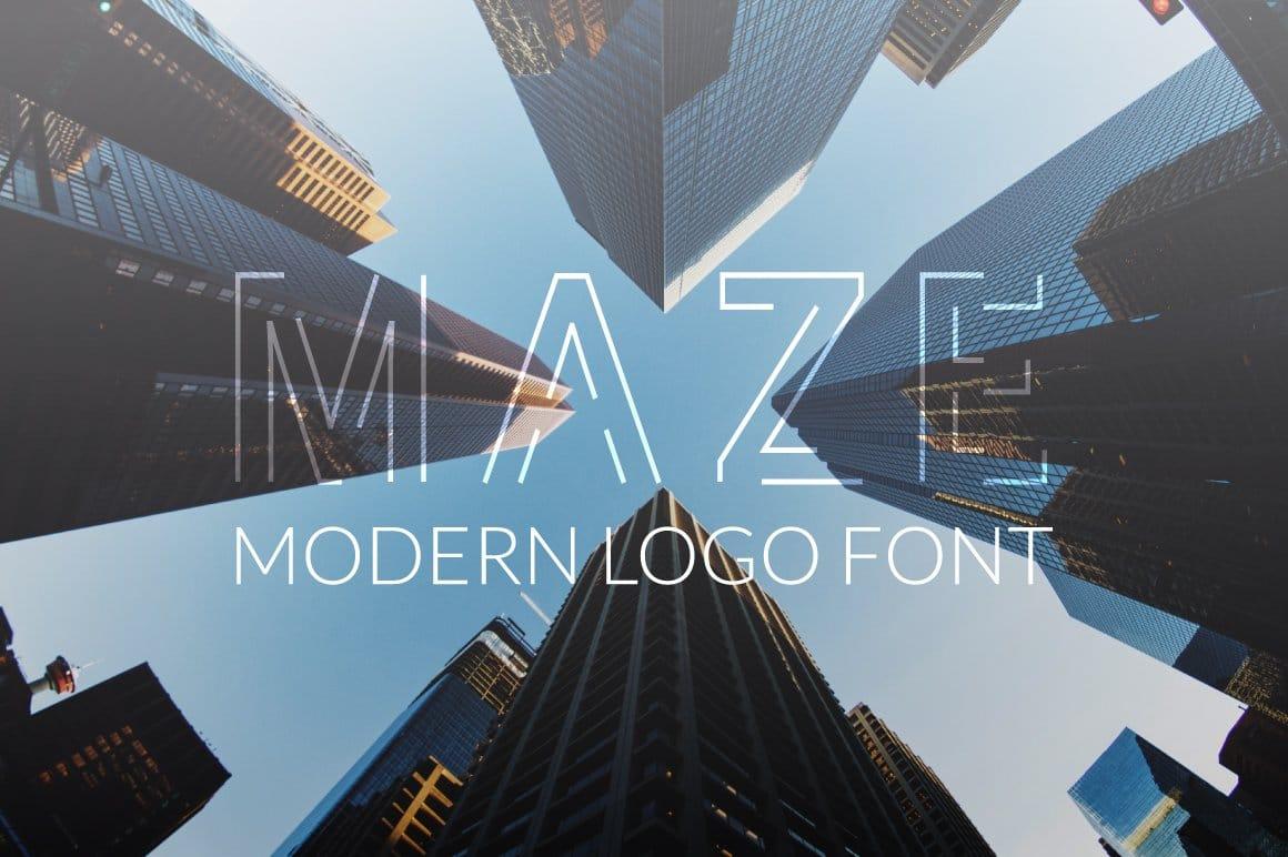 Maze Logo Font
