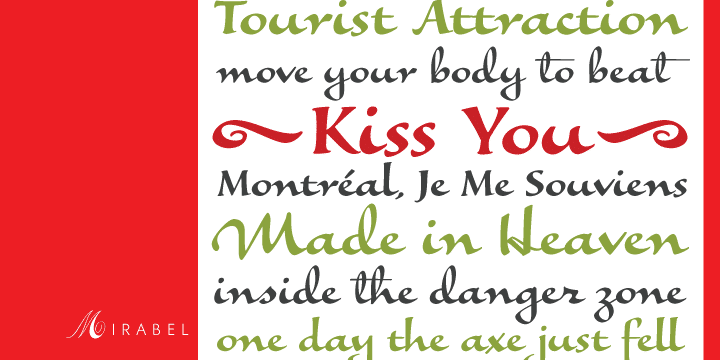 Mirabel Font