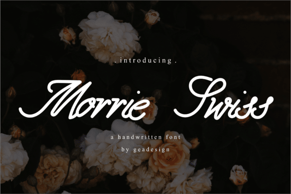 Morrie Swiss Font