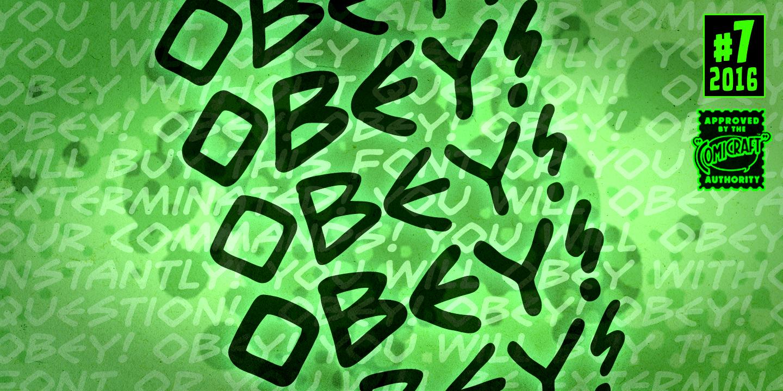Obey Obey Obey Font