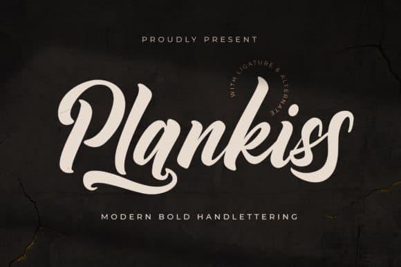 Plankiss Font