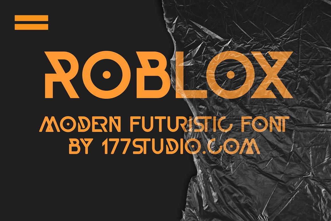 Roblox Geometric Sans Font