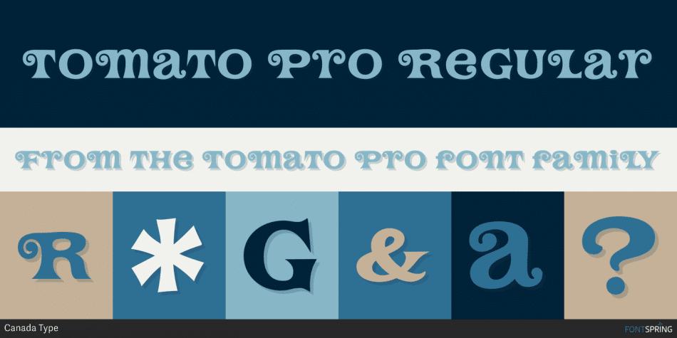 Tomato Pro Font