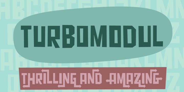 Turbo Modul Font