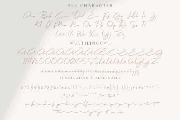 Colbiac Casual Script Font