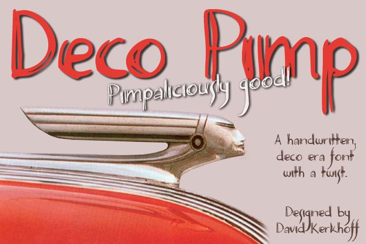Deco Pimp Font