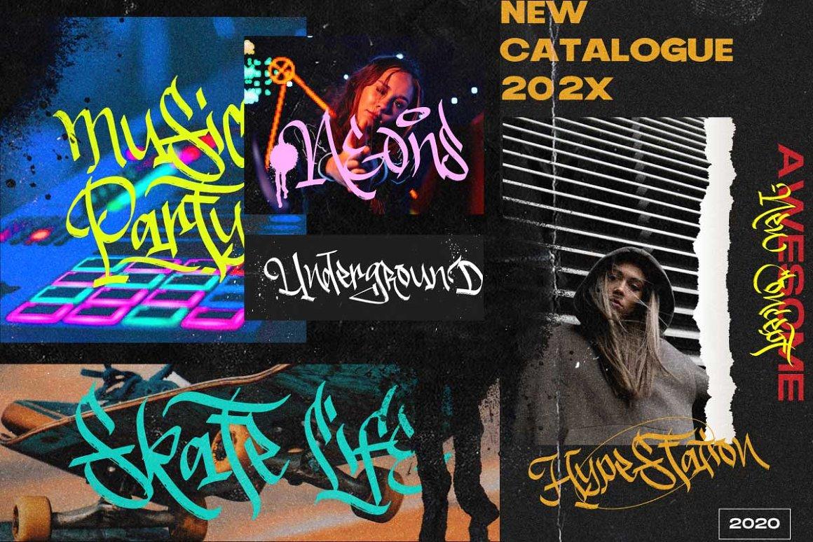Dirtysick Graffiti Font