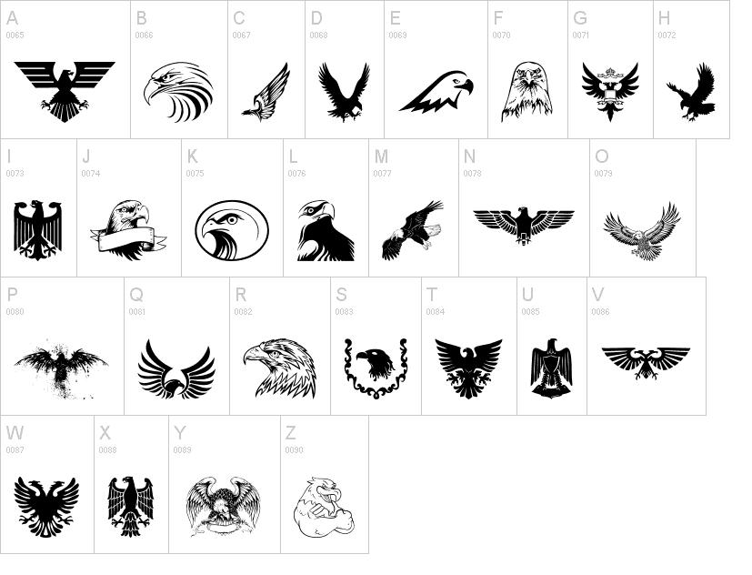 Eagle Font Eagle Bold Font