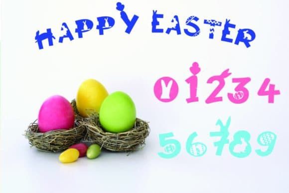 Happy Easter Font
