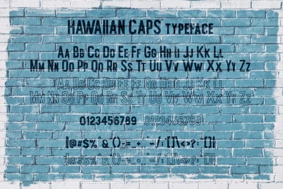 Hawaiian Duo Font