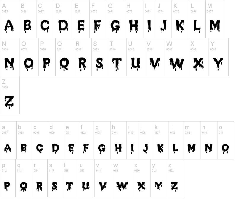 JD Melted Font
