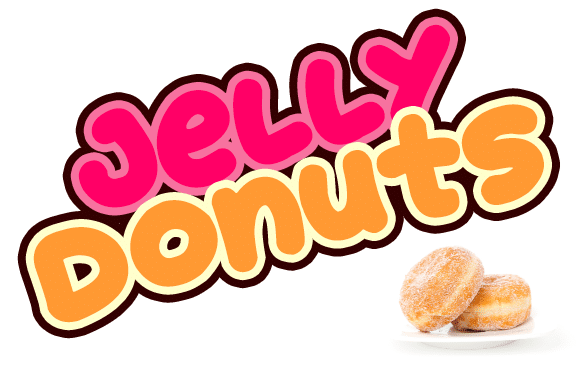 Jelly Donuts Font Donut Font