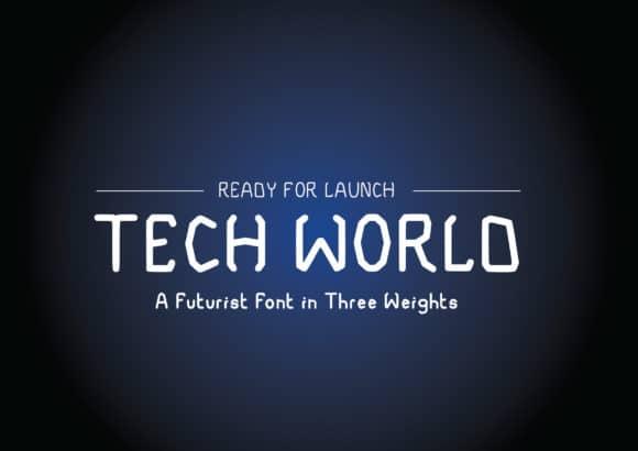 Tech World Font
