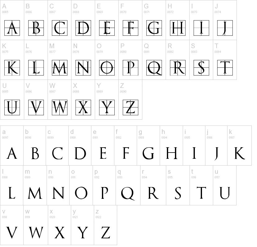Trajanus Bricks Font Trajan Font Generator